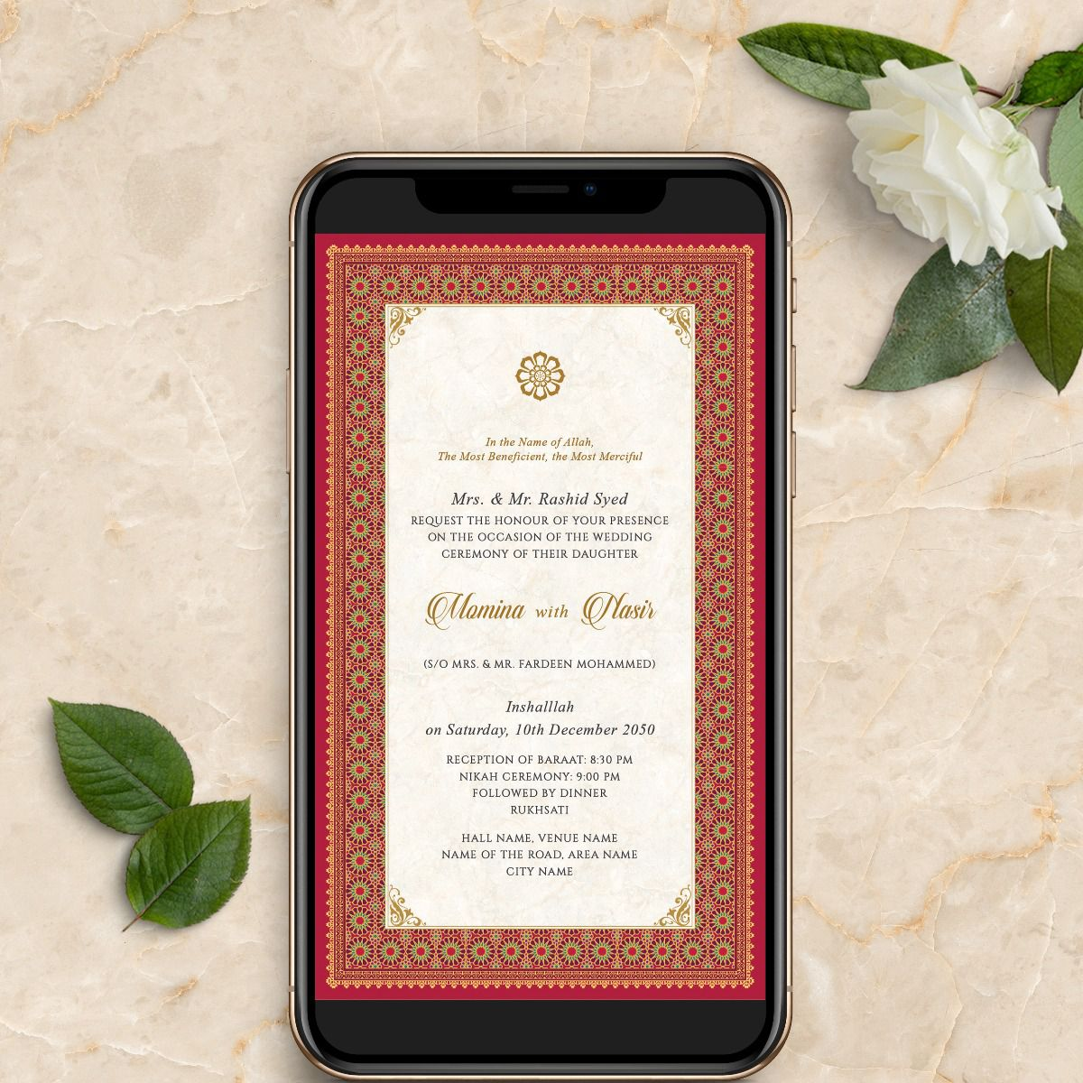Mughal magnificence - frame